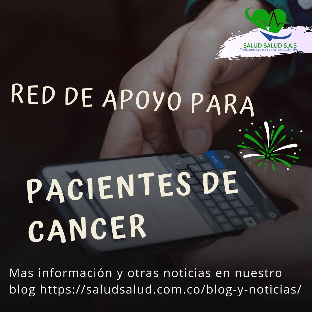 Nueva app gratuita permite a pacientes con cáncer crear su red de apoyo