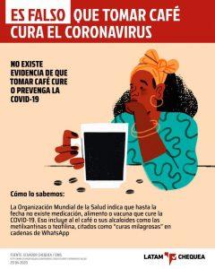 Cuatro falsos remedios caseros contra el coronavirus.