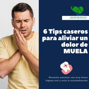 6 Remedios caseros para aliviar un dolor de MUELA