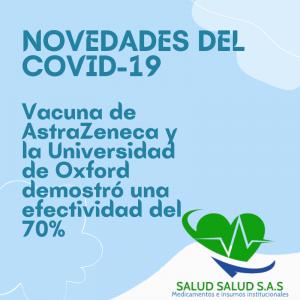 Noticias sobre una posible Vacuna contra el Covid-19