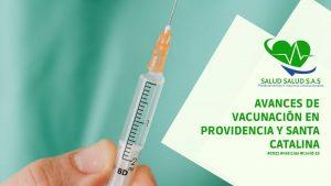 Avances de Vacunación