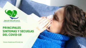 Principales sintomas y secuelas del COVID-19