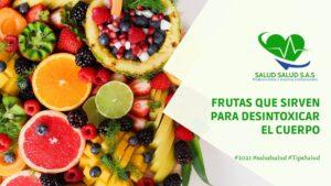 Frutas que sirven para desintoxicar el cuerpo